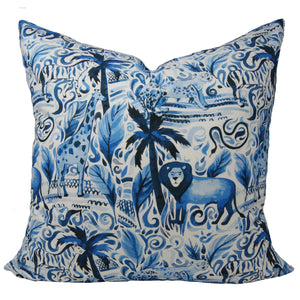 Journey in the Jungle Pillow Cover