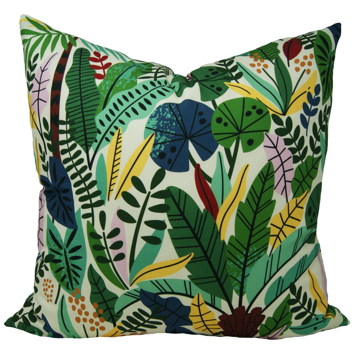 Jungle Party Pillow Cover
