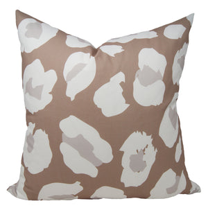 Leopold Pillow Cover in Greige