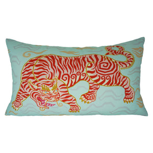 Tibetan Tiger Lumbar Pillow