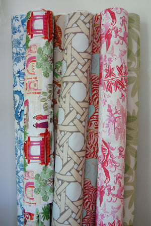 Rolls of Fabric from Post House Design
