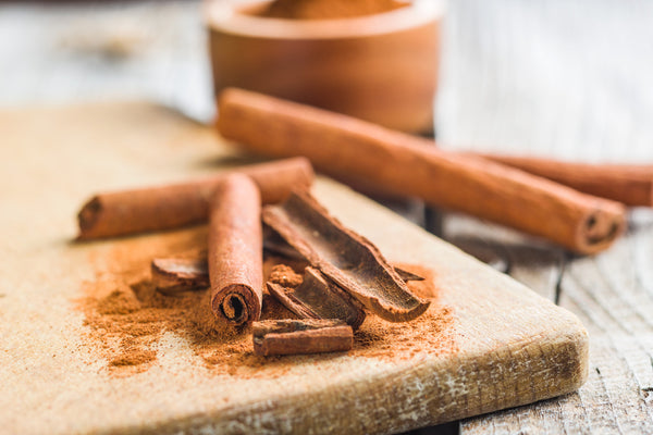 cinnamon bark sticks