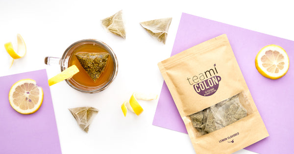 teami colon tea with lemon