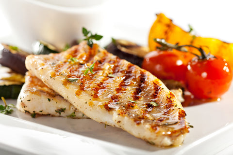 Filet of Fish With Vegetables