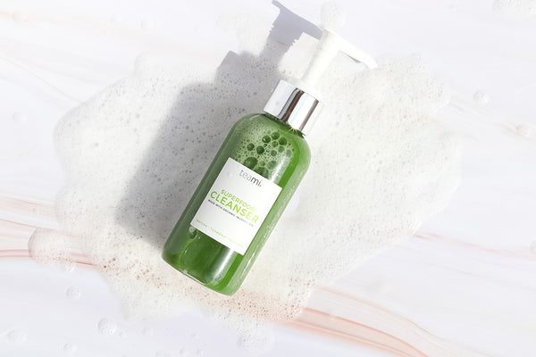 teami green tea superfood facial cleanser