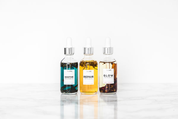 Teami Blends facial oils