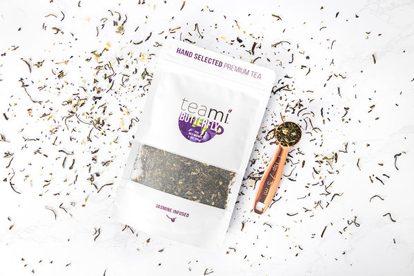 teami butterfly pea flower tea