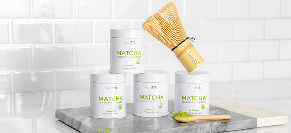 Teami Matcha Green Tea Powder Tins