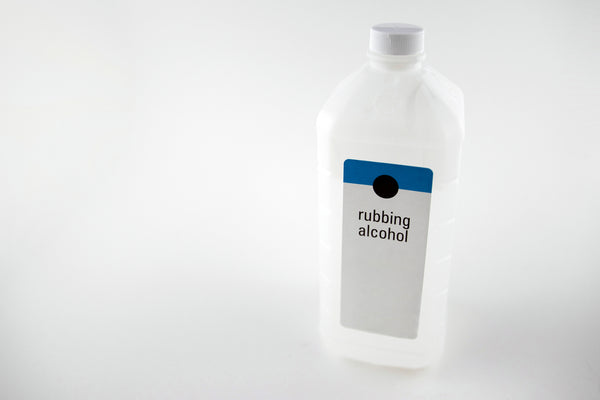 bottle of rubbing alcohol