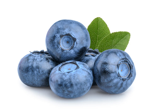 organic blueberries