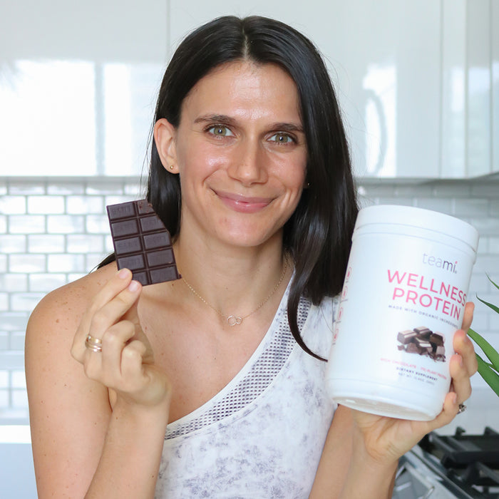 Organic Plant-Based Wellness Protein, Rich Chocolate