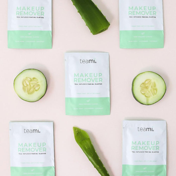 Organic Makeup Remover Cloths - Free