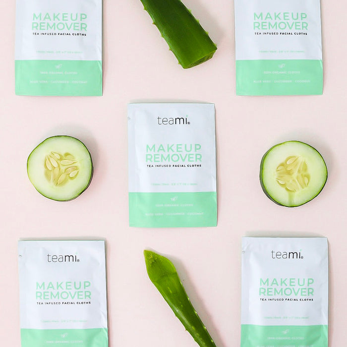 Teami Tea Infused Makeup Remover with Aloe Vera & Cucumber
