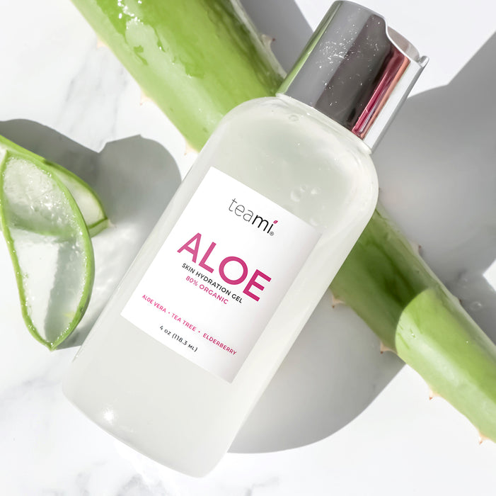 Teami Aloe, Organic Skin Hydration Gel
