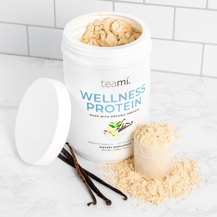 Plant-Based Wellness Protein, Smooth Vanilla