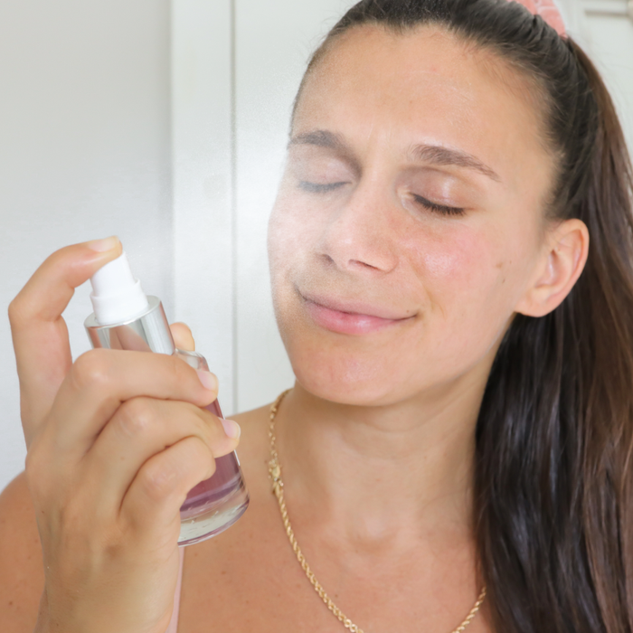 Adi using the Teami Blends Butterfly Toner Mist