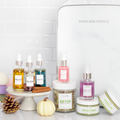 Teami Blends Skincare Fridge with Teami skin care products