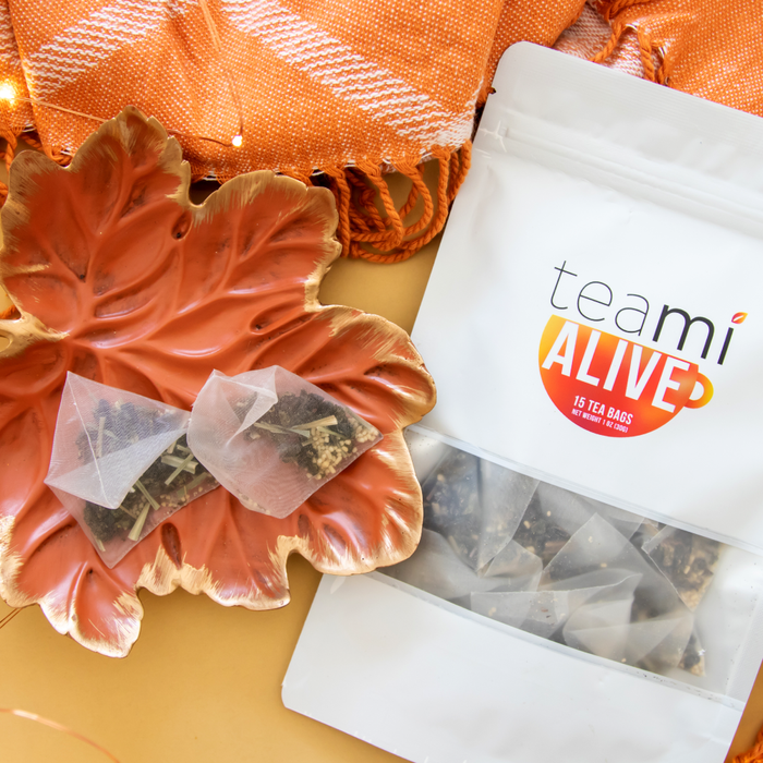 Teami Blends Alive Tea Blend with Tea Bags