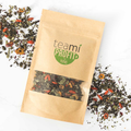 Teami Blends Profit Tea ingredients: chinese red dates, green tea, nettle leaf, goji berry, peppermint & dried roselle