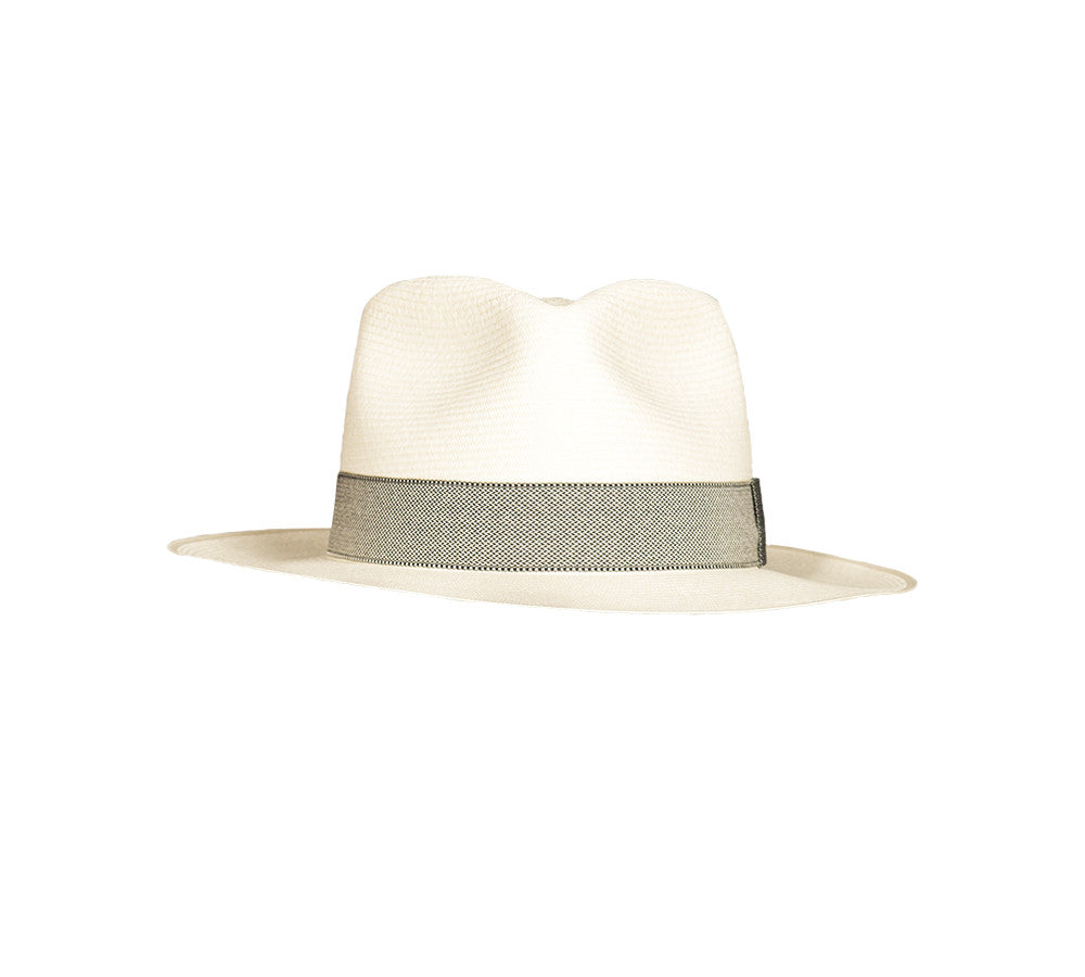 Authentic Hand Woven Panama Hat- Diamond Style - little-amigos-south-america