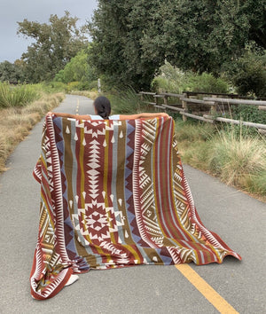 Andes Sun Alpaca Blend Blanket - little-amigos-south-america