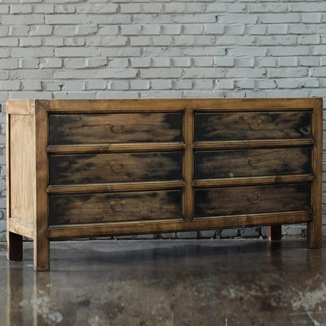 Bedroom 6 Drawer Dresser - Sino Collection