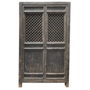 Bookcases/Cabinets Antique Asian Style 2 Door Wardrobe - Sino Collection