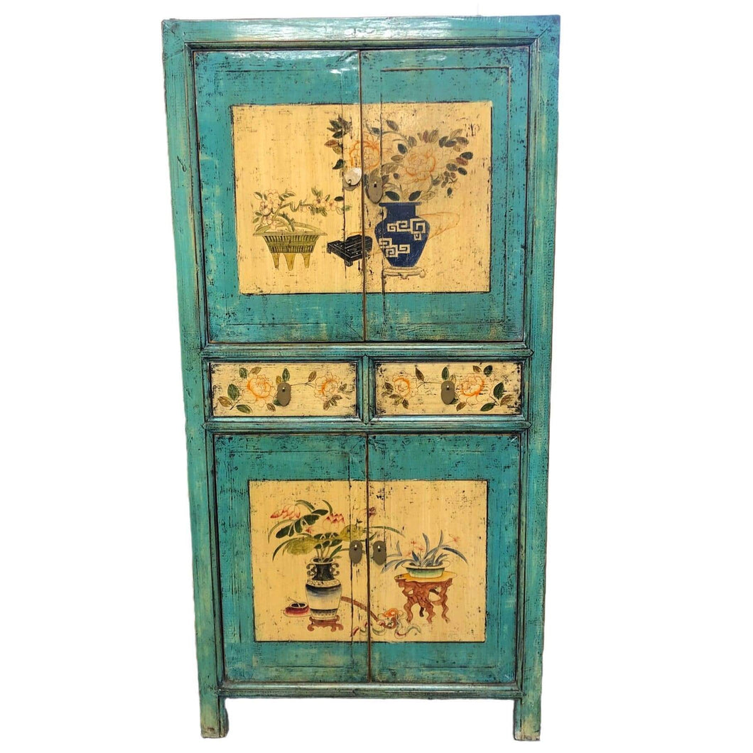 Bookcases/Cabinets Asian Design 2 Door Cabinet