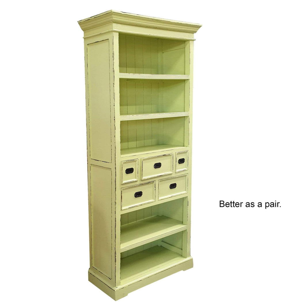 Bookcases/Cabinets Bookcase with 5 Drawers
