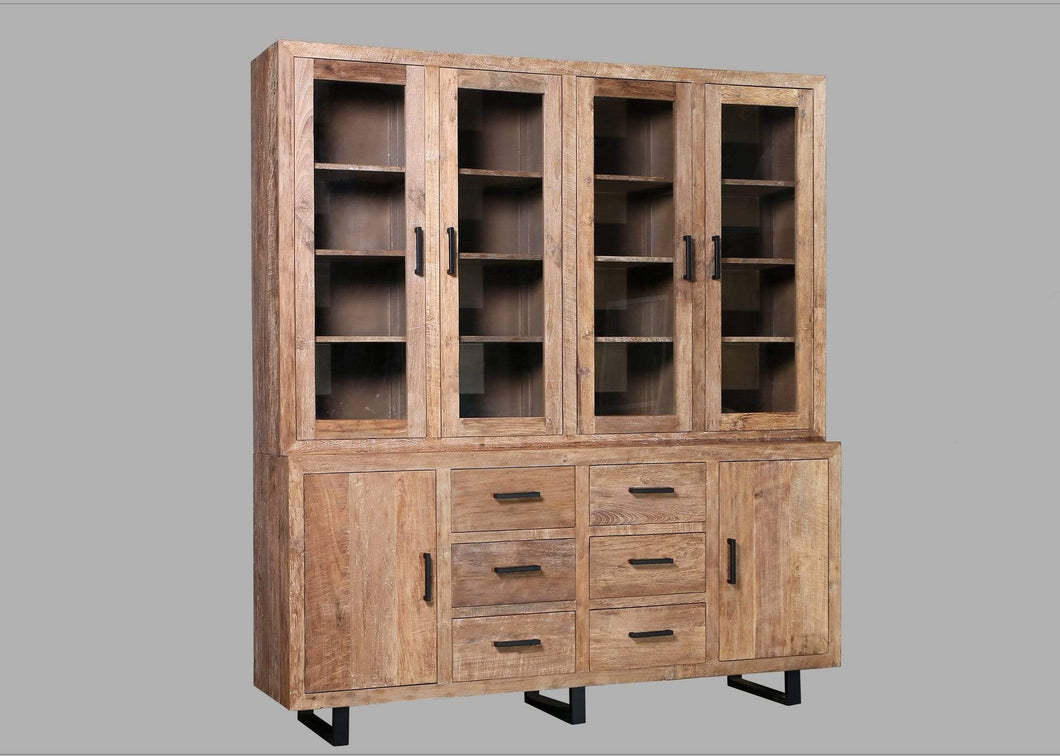 Cabinet XL Recycled Teak Rustic Cabinet