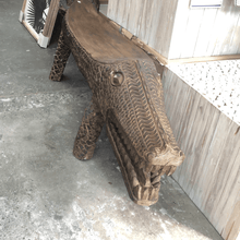Load image into Gallery viewer, Crocodile Bench Seat 1.6m