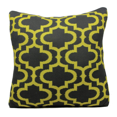 Cushions Britannia Cushion Dark Grey/Yellow