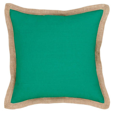 Cushions Hampton Linen Cushion Emerald