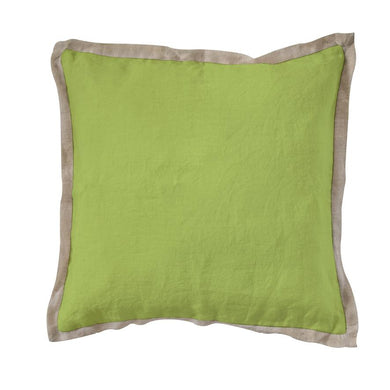 Cushions Havana Linen Cushion Greenery