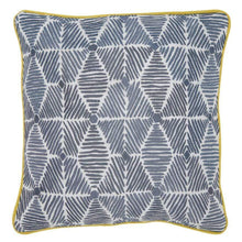 Load image into Gallery viewer, Cushions Julie Cushion Mustard Piping