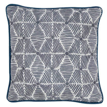 Load image into Gallery viewer, Cushions Julie Cushion Teal Piping