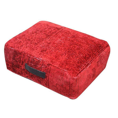Cushions Kashi Floor Cushion Red
