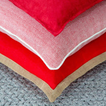 Load image into Gallery viewer, Cushions Rye Cushion Red