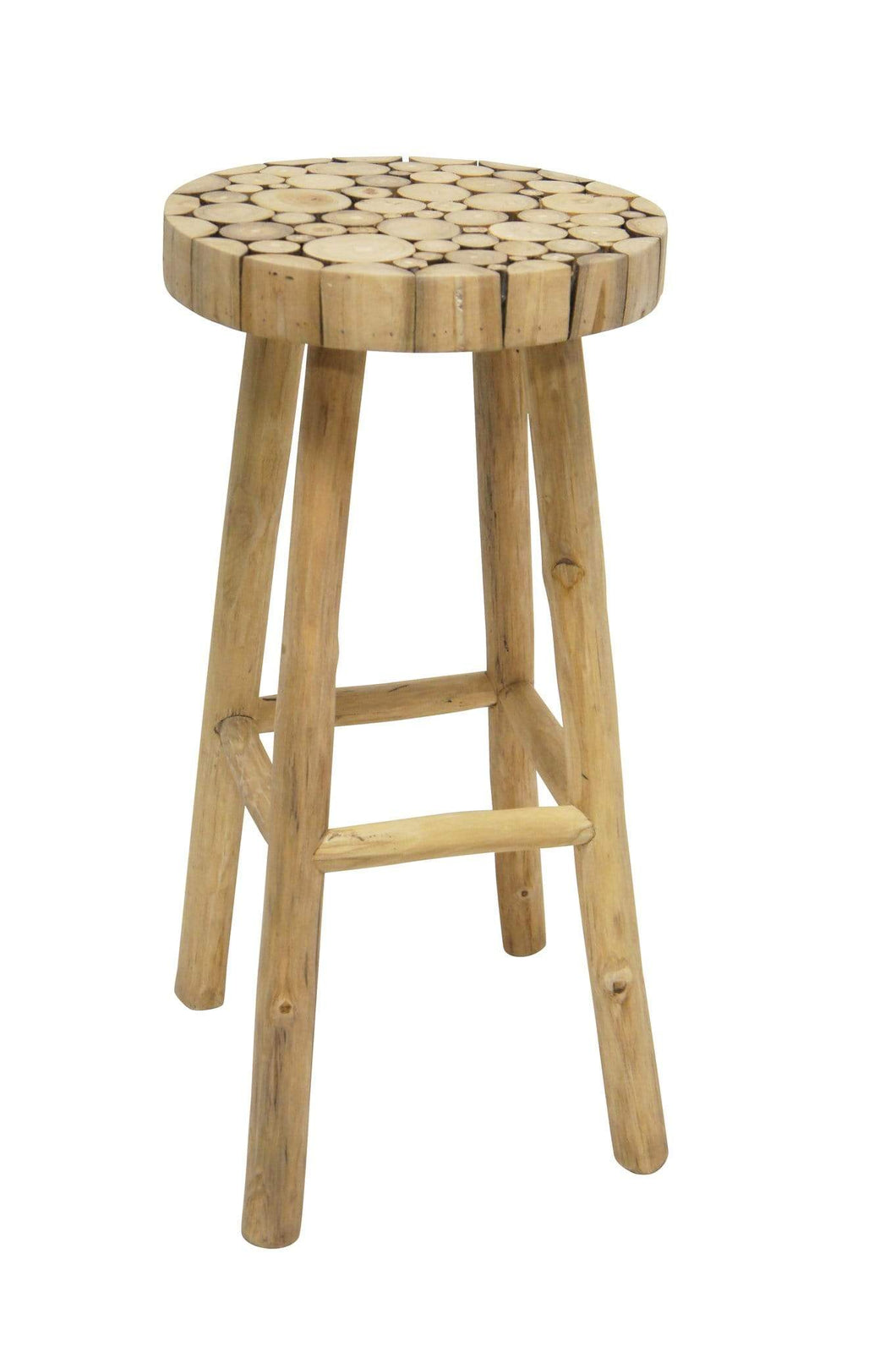 Driftwood Bar Stool Natural