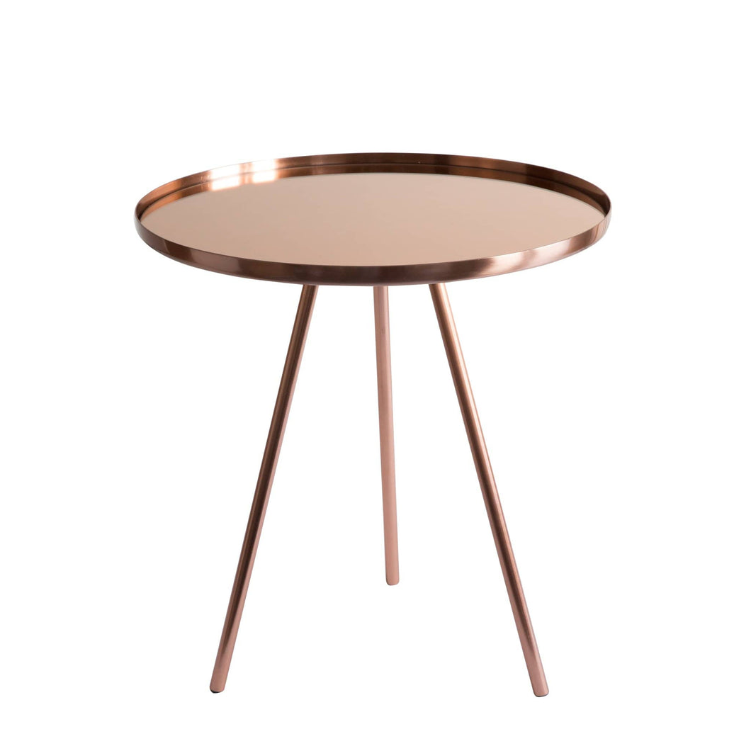 Furniture Coco Side Table Copper