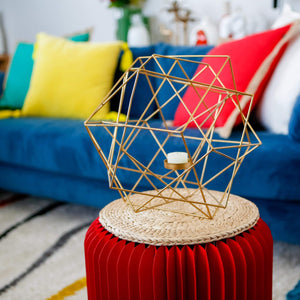 Furniture Lomond Stool Red