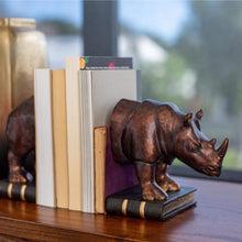 Load image into Gallery viewer, Home Accents Bookends Rhino