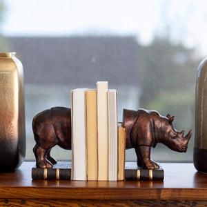 Home Accents Bookends Rhino