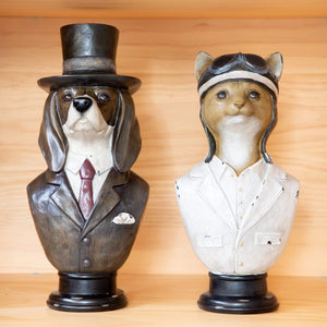 Home Accents Busto Pilot Cat Statue