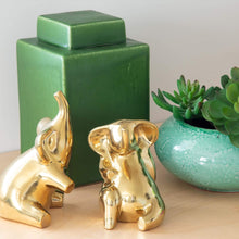 Load image into Gallery viewer, Home Accents Troup Elephant Set Of 2