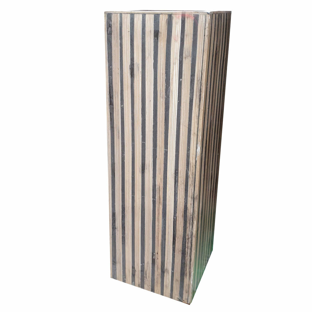 Home Decor Bamboo Vase - Square