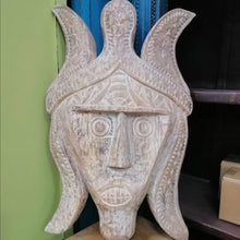 Load image into Gallery viewer, Home Decor Hand-Carved Wooden Face Mask