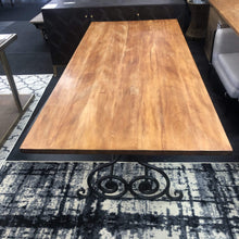 Load image into Gallery viewer, Maitai Wood Dining Table 2.19m
