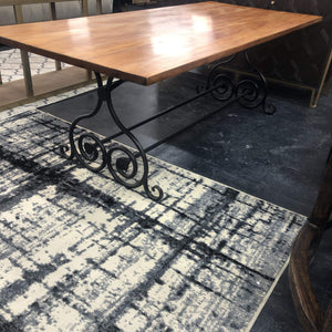 Maitai Wood Dining Table 2.19m