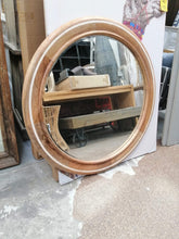 Load image into Gallery viewer, Neve Wooden Round Mirror